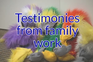 Testimonies from family work