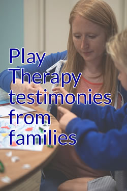 Play therapy testimonies from families